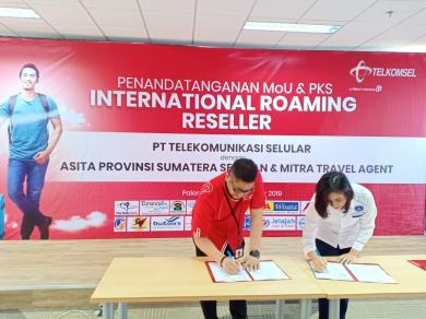 Support Paket Roaming Internasional